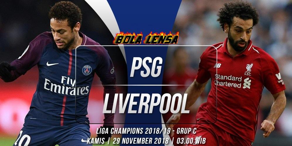 Prediksi PSG vs Liverpool