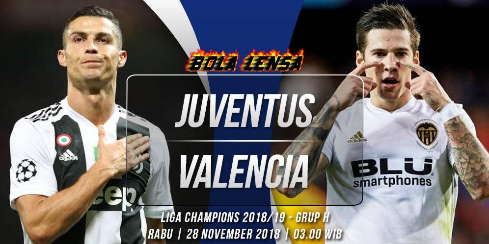 Prediksi Juventus vs Valencia