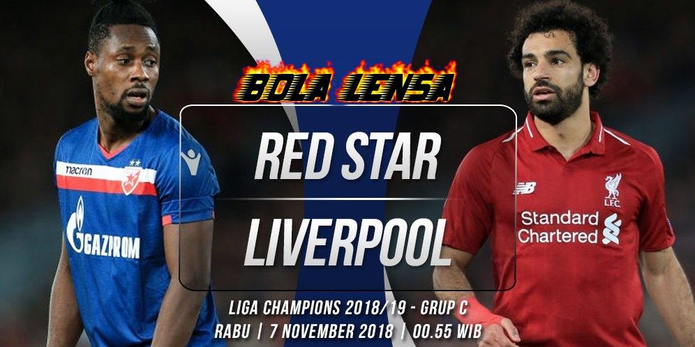 Prediksi Red Star Belgrade vs Liverpool